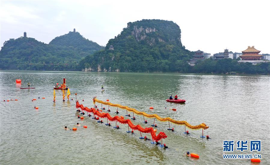 #(社会)(4)广西柳州:畅游柳江度长假