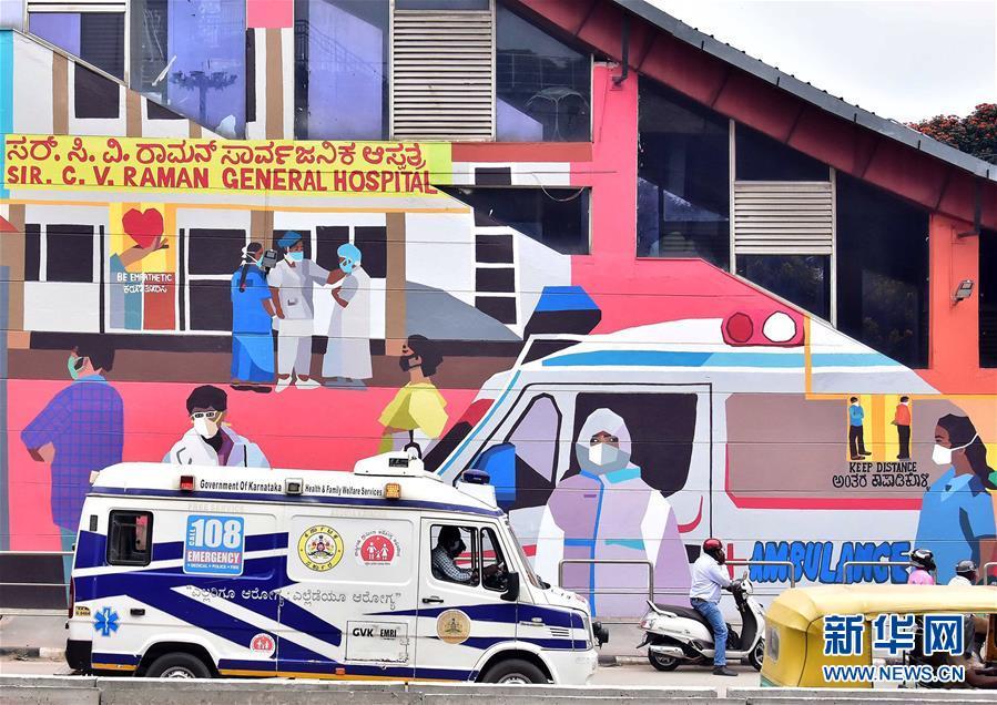 (国际疫情)(3)印度:抗疫宣传壁画