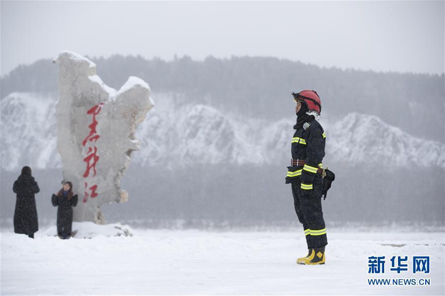 """扎根漠河的""""北极消防员"""""""