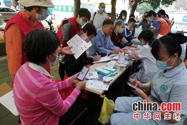深圳水贝社区开展健康义诊活动