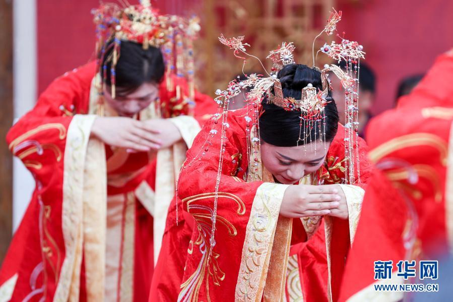 传统婚礼结良缘