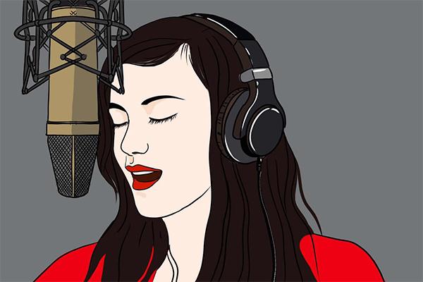 为什么戴着耳机唱歌会跑调?