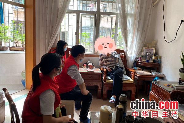 敬老爱老,情暖夕阳 深圳翠平社区开展老年人探访活动