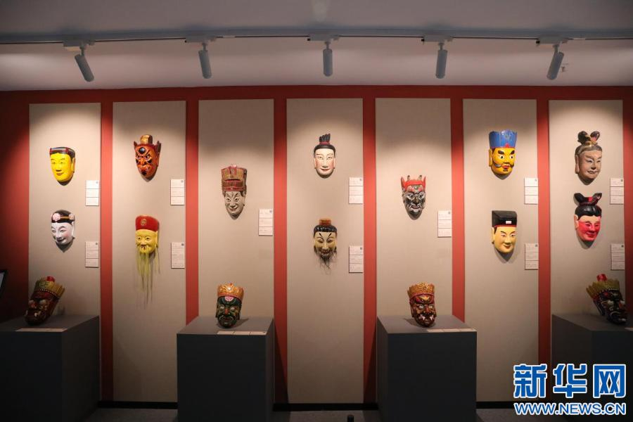 """南丰傩面具:传承千年的古老""""表情包"""""""