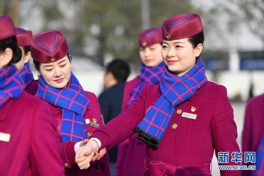 重庆铁路部门备战春运