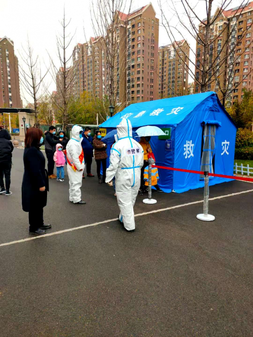 世茂服务华北|硬核防疫,守护家园