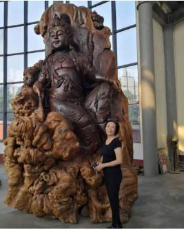 访平顶山凌云大香山国学文化传播有限公司董事长李凌云