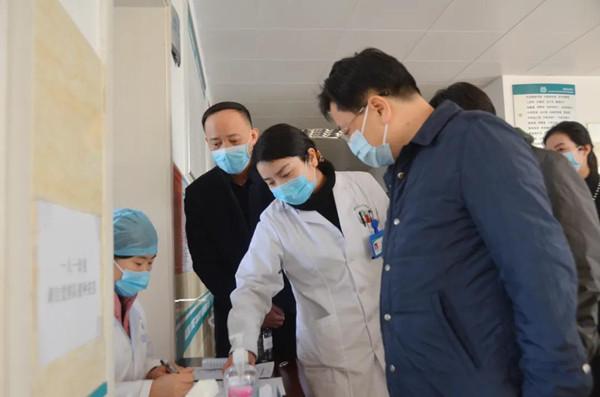 柳叶湖旅游度假区领导督导疫情防控、安全生产和春运工作