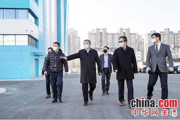 山东烟台高新区工委书记、管委主任刘森调研艾多美项目