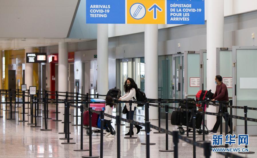 加拿大对入境者实施强制检疫隔离措施