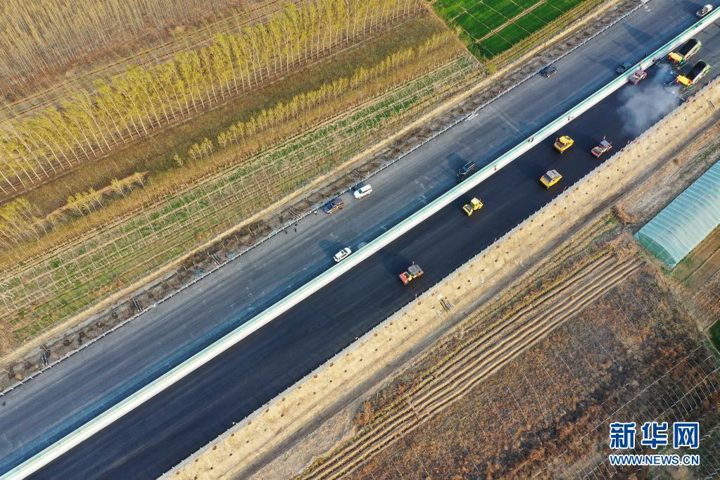 京德高速(一期工程)建设有序推进