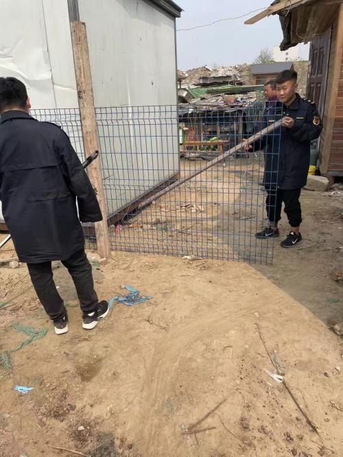 郑东新区圃田乡:开展文明养犬专项整治行动