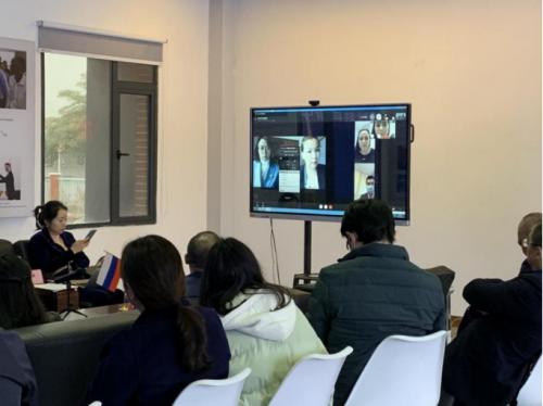 南华生物参加中俄科技创新技术转移工作站筹备交流会