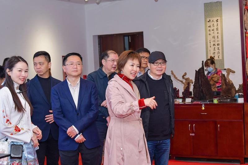 湖南广电负责人来桃花源考察
