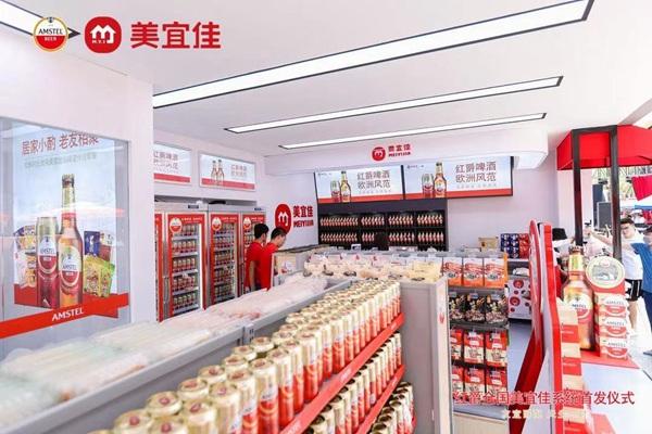 红爵全国美宜佳系统首发 打造零售业态新标杆