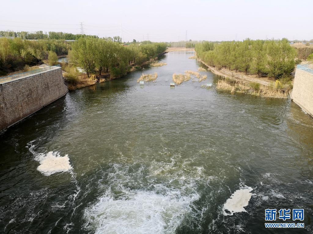生态补水永定河 一汪清流向京冀