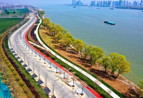 南京江北新区:绿色是发展的第一底色 环境提升让群众更有获得感