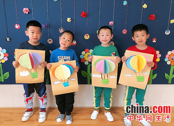 烟台福山区第二实验幼儿园开展母亲节活动