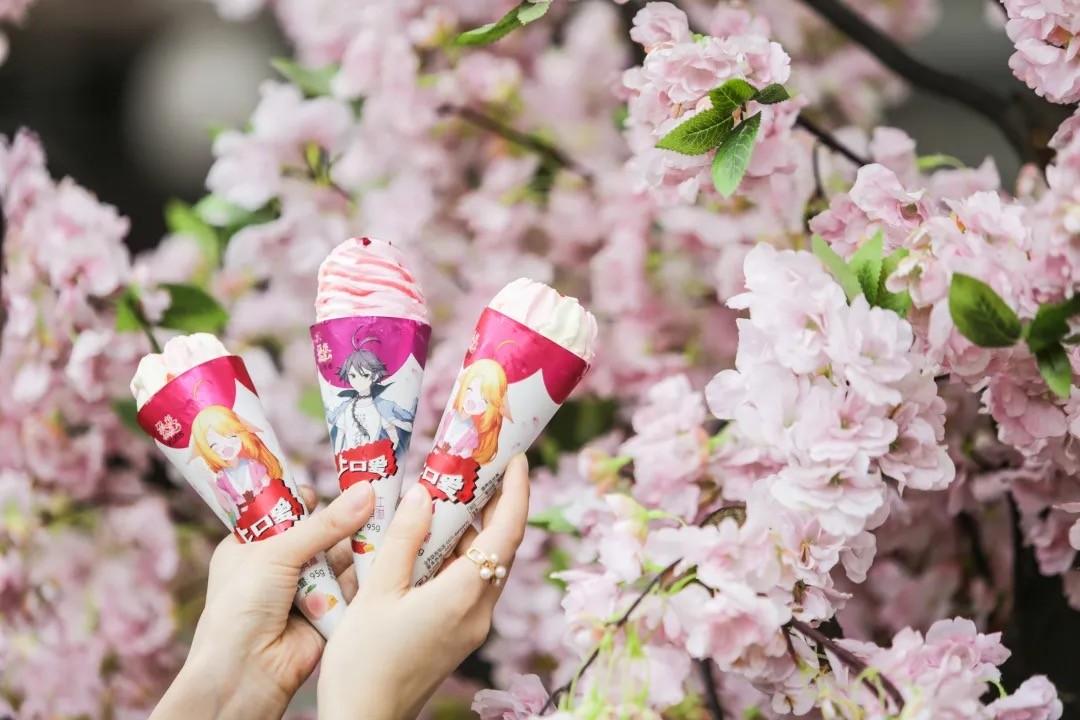 国漫《狐妖小红娘》助力国货冰淇淋上口爱出圈