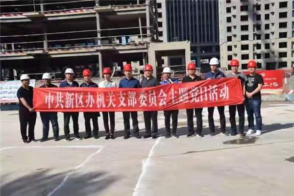 中国二冶集团城建分公司学党史悟思想 联建共建开新花