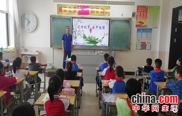 烟台莱山区院格庄中学开展丰富多彩的端午节主题教育活动