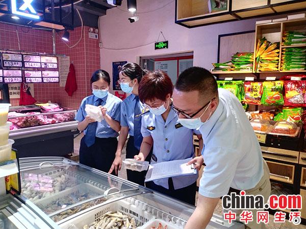 剑河县人民检察院与县市场监督管理局开展联合检查