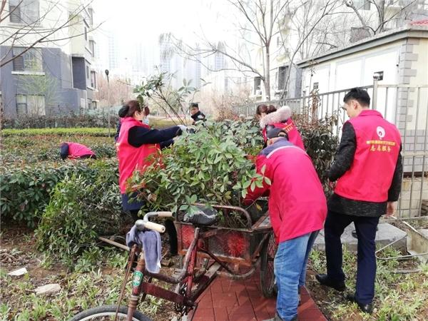 植树节 社区物业齐联合,美丽家园添新绿