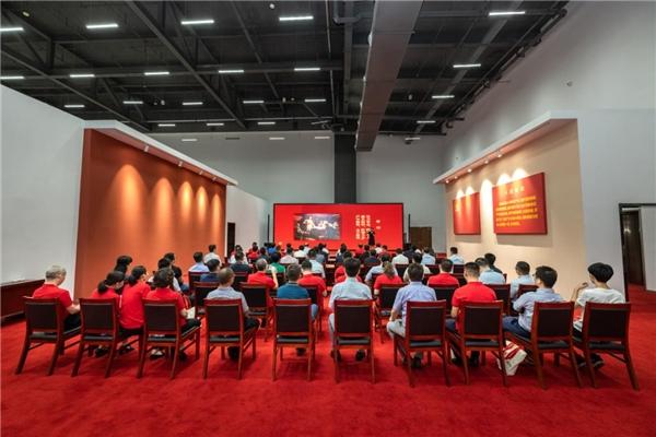 学习百年党史汲取奋进力量中建八局华北公司北京分公司扎实推进党史学习教育各项工作