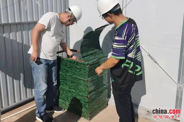 烟台高新区开展对在建项目液化气罐使用、存放检查