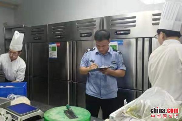 烟台市市场监督管理局高新区分局开展食品安全专项检查整治