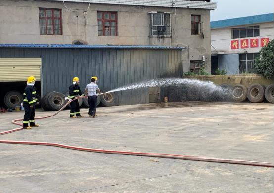 湖南省消防救援总队到河洑镇开展消防专职队调研指导工作
