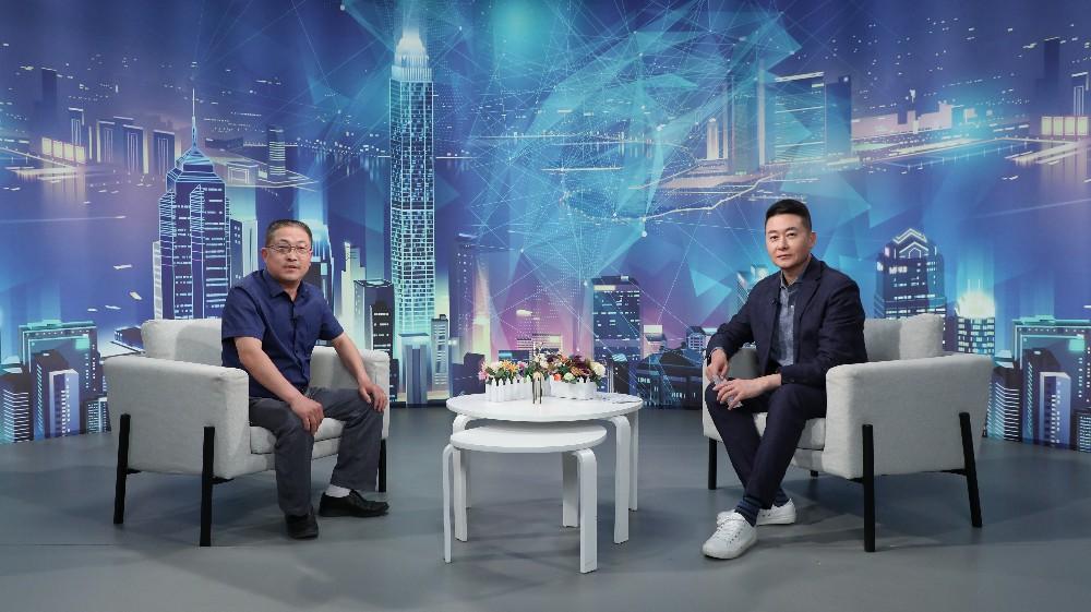 """""""南阳市晶亮光电科技""""董事长王建浩做客《崛起中国》"""