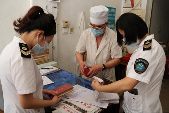 武陵区开展医疗机构新冠疫情防控专项检查