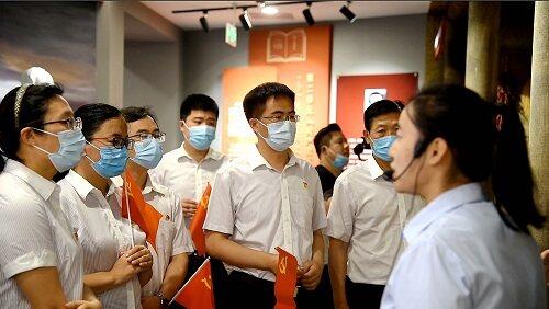 中国银行东营广饶支行开展主题党日活动