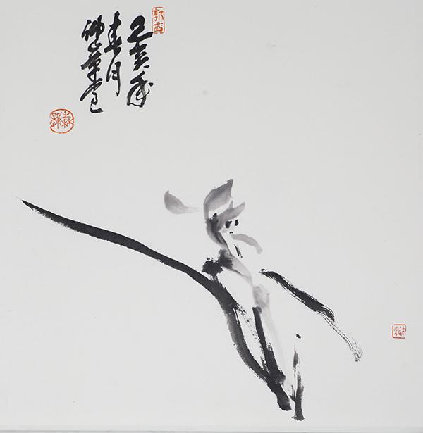 细嗅蔷薇——读郭森龙的写意花鸟
