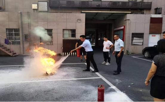 丹阳街道开展消防安全知识培训及应急演练活动
