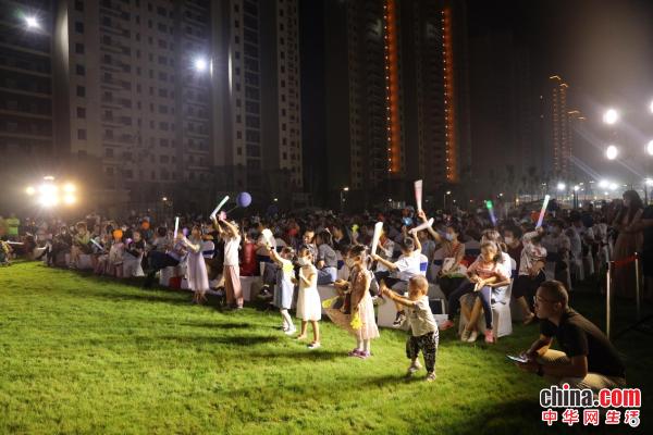 视听盛宴!第三届烟台市民文化节高新区草坪音乐会激情上演