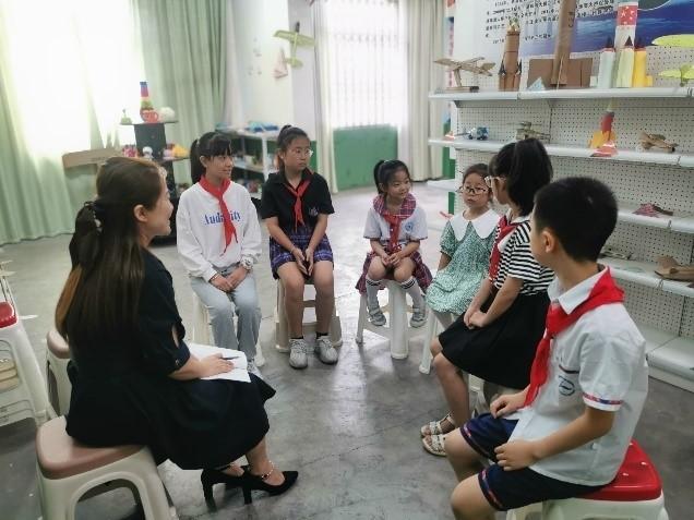 彭州市第二责任区督学赴航动实小进行9月经常性督导检查