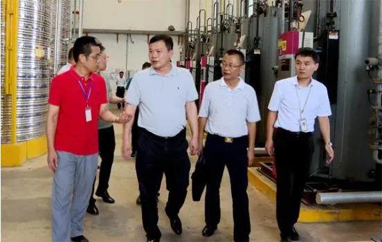 湘潭县领导带队到天易经开区走访调研企业