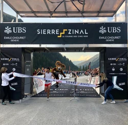 艾米龙赞助Sierre-Zinal马拉松比赛,致敬拼搏精神