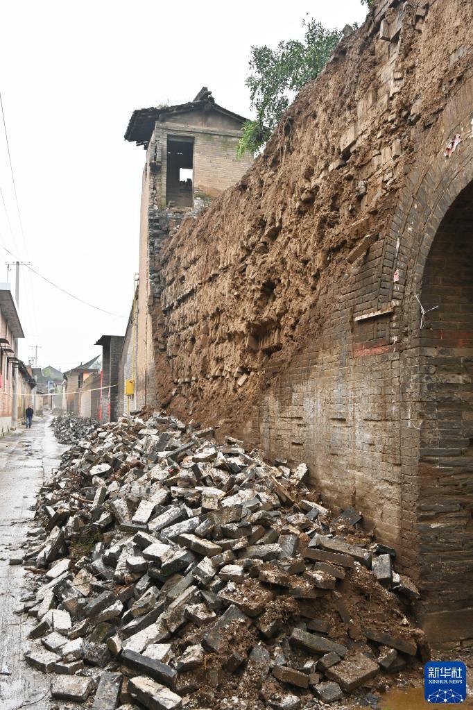 山西多处文物受降雨影响出现险情 文物部门正在开展抢险修缮工作