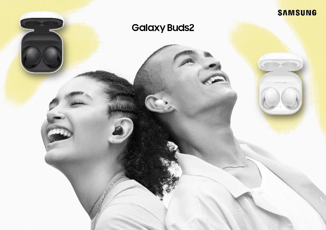 三星Galaxy Buds2:音质饱满、音效清晰的真无线降噪耳机
