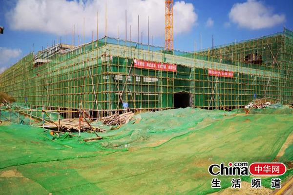 """烟台高新区:国庆假期不停步 项目建设""""加速跑"""""""