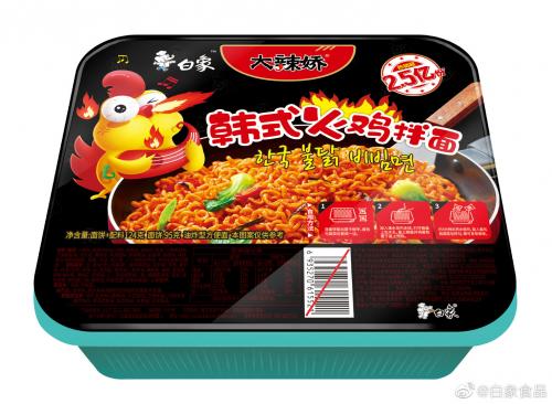 引领方便食品创新趋势 大辣娇拌面获行业大奖