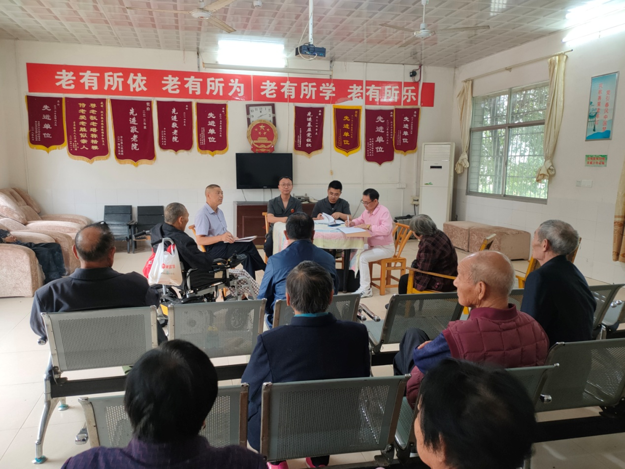 平江县人民法院巡回审理一起残疾人离婚案件