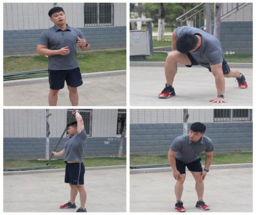 """健身教练助力""""火焰蓝""""提质强能"""