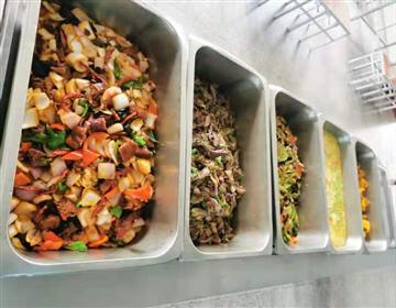 提升伙食保障能力,锻炼炊事员业务技能