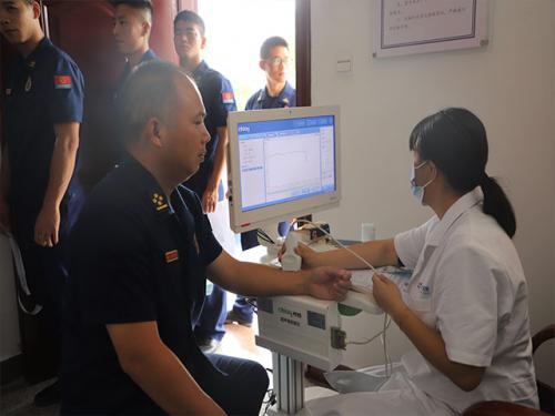 三明支队泰宁大队严密组织健康体检工作