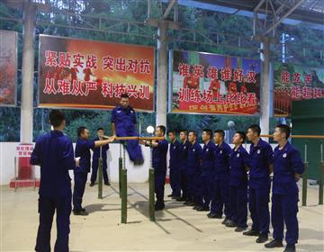 三明支队泰宁大队灵活训练方法,不断调动队员训练热情