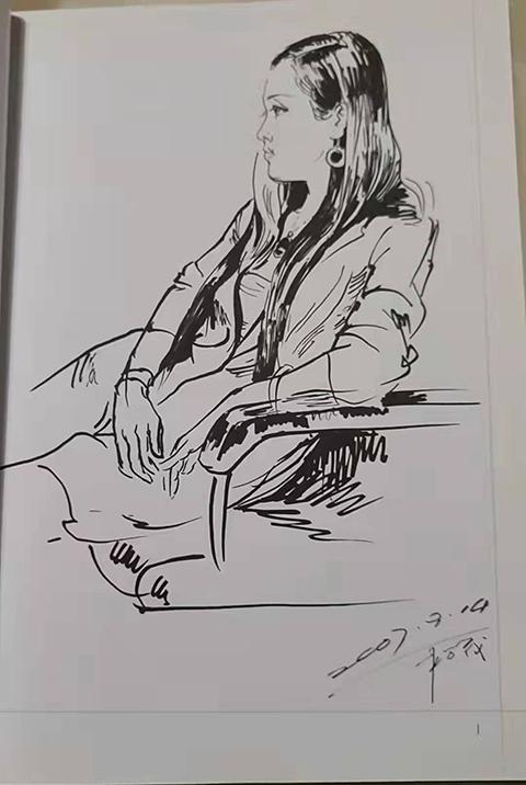 油画家李松茂先生印象